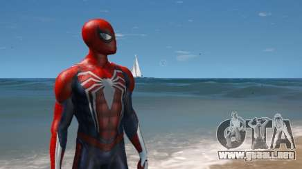 Spiderman PS4 4k 2.0 para GTA 5