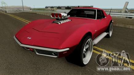 Chevrolet Corvette C3 Stingray HQ para GTA San Andreas
