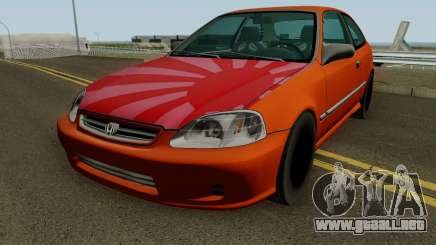 Honda Civic EK9 Low Poly para GTA San Andreas