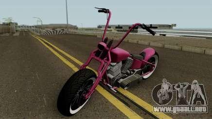 Western Motorcycle Zombie Bobber GTA V para GTA San Andreas