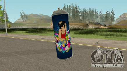 New Spraycan HQ para GTA San Andreas