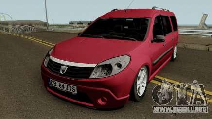 Dacia Grand Sandero para GTA San Andreas