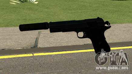 New Silenced Pistol HQ para GTA San Andreas
