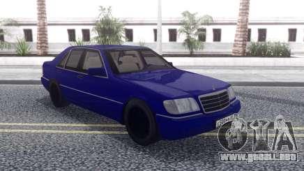 Mercedes-Benz W140 AG para GTA San Andreas