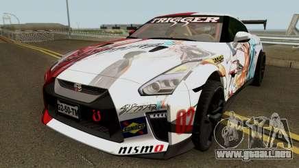 Nissan GT-R Premium R35 17 Itasha para GTA San Andreas