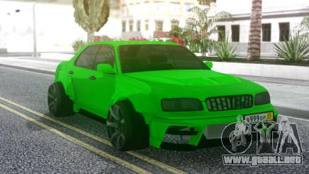 Nissan Cedric WideBody Green para GTA San Andreas