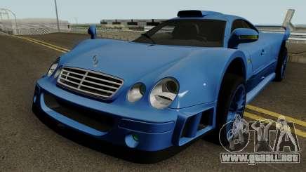 Mercedes Benz CLK GTR (C208) 1998 para GTA San Andreas