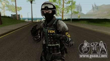 TEK Skin 3 para GTA San Andreas