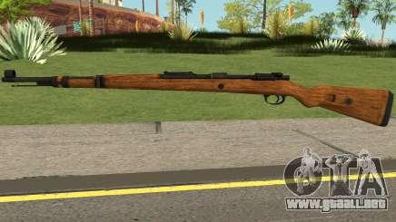 Karabiner 98K Rifle V2 para GTA San Andreas