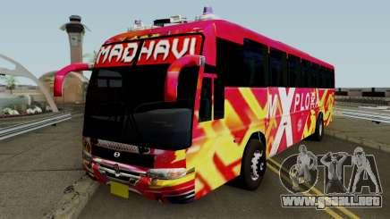 MADHAVI MOTORS KERALA BUS para GTA San Andreas