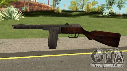 COD-WW2 - PPSH-41 para GTA San Andreas