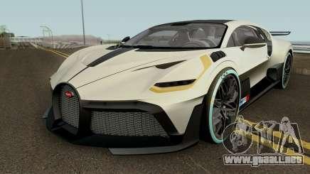 Bugatti Divo 2019 HQ para GTA San Andreas