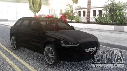 Audi RS 6 Travel para GTA San Andreas