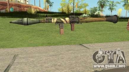 Bad Company 2 Vietnam RPG-7 para GTA San Andreas