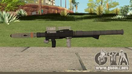 New Rocket Launcher HQ para GTA San Andreas