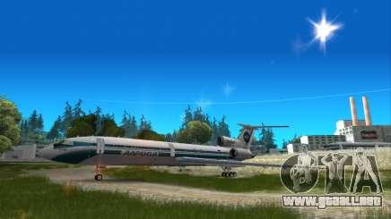 Tu-154 ALROSA leyenda Izhma para GTA San Andreas