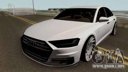 Audi A8 SlowDesign 2018 para GTA San Andreas