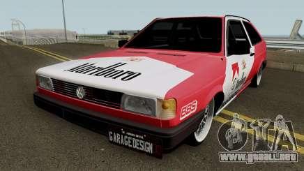 Volkswagen Gol Quadrado Marlboro para GTA San Andreas