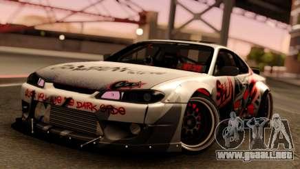 Nissan Silvia S15 Rocket Bunny Red para GTA San Andreas