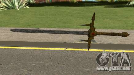 Barbarossa Sword From COD WWII:Nazi Zombies para GTA San Andreas