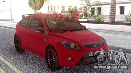 Ford Focus RS Red para GTA San Andreas
