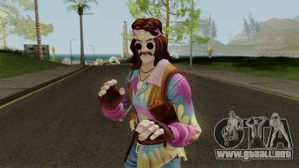 Fortnite Hippie Far Out Man para GTA San Andreas