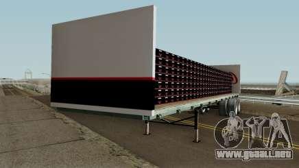 Coca Cola Zero Trailer para GTA San Andreas