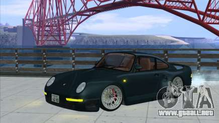 Porsche 959 Dark Grey para GTA San Andreas
