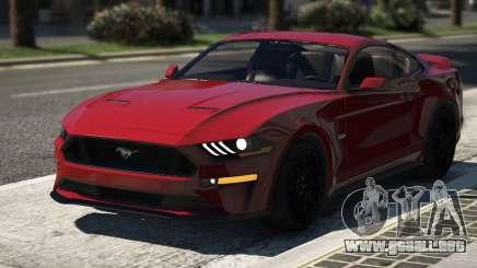 Ford Mustang GT 2018 para GTA 5
