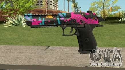 Neon Destroyer Deagle para GTA San Andreas