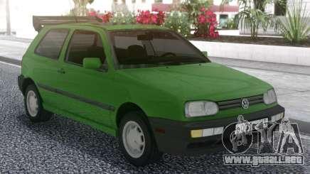 Volkswagen Golf Mk3 1.6 US-Spec para GTA San Andreas