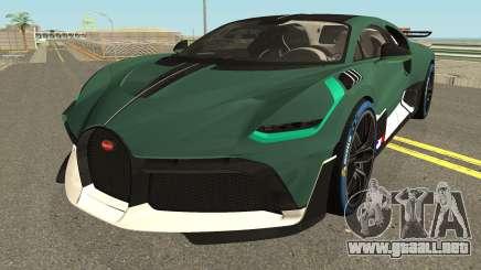 Bugatti Divo 2019 High Quality para GTA San Andreas