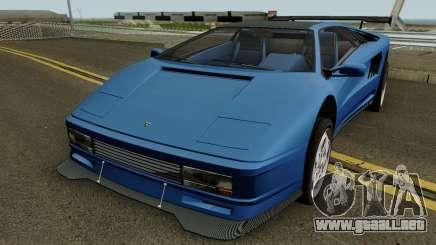 Lamborghini Diablo VT 6.0 (Infernus Style) 1990 para GTA San Andreas