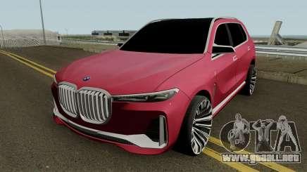 BMW X7 2017 HQ para GTA San Andreas