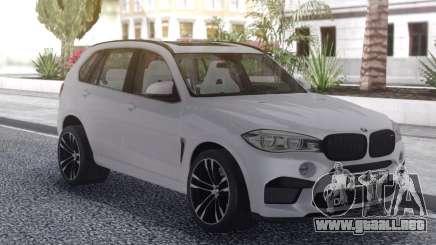 BMW X5 White para GTA San Andreas