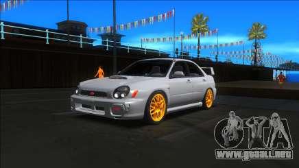 2001 Subaru Impreza WRX STI para GTA San Andreas