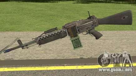 Bad Company 2 Vietnam Stoner 63A para GTA San Andreas