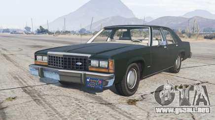 Ford LTD Crown Victoria 1987 para GTA 5