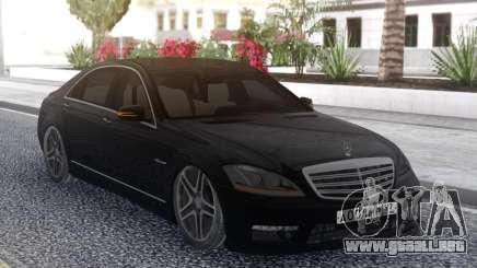 Mercedes-Benz W221 S65 AMG para GTA San Andreas