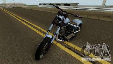 Liberty City Customs Avarus Version Final GTA V para GTA San Andreas