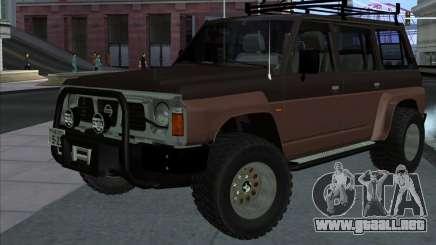 Nissan Patrol Y60 Offroad para GTA San Andreas