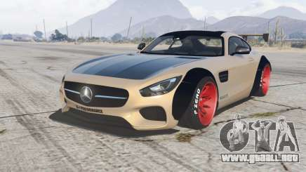 Mercedes-AMG GT coupe (C190) 2016 LibertyWalk para GTA 5