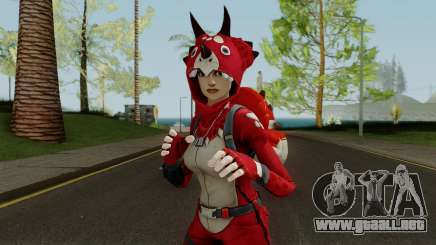 Fortnite Pajama Party Skin para GTA San Andreas