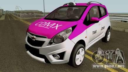 Chevrolet Spark TAXI CDMX para GTA San Andreas