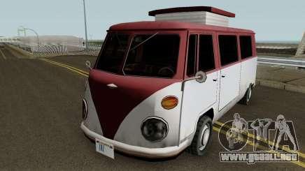 Burgerfahrzeug Volkswagen T2 Microbus para GTA San Andreas