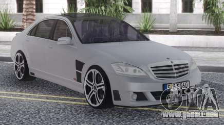 Mercedes-Benz SV12 Brabus para GTA San Andreas