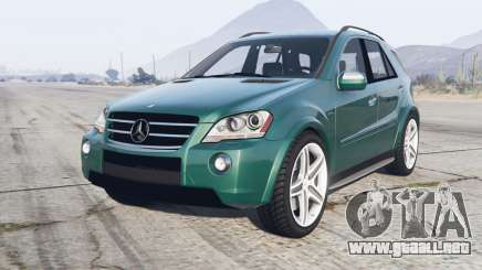 Mercedes-Benz ML 63 AMG (W164) 2008 para GTA 5