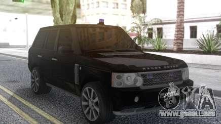 Land Rover Range Rover Sport Black para GTA San Andreas
