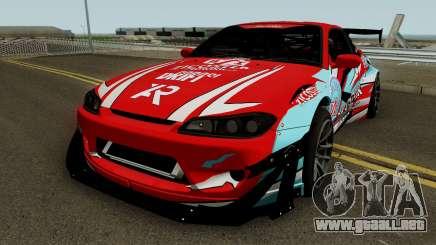 Nissan Silvia S15 Rocket Bunny BSI Drift Team para GTA San Andreas