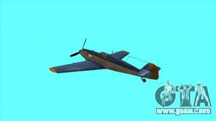 Rustler - BF109E4 para GTA San Andreas